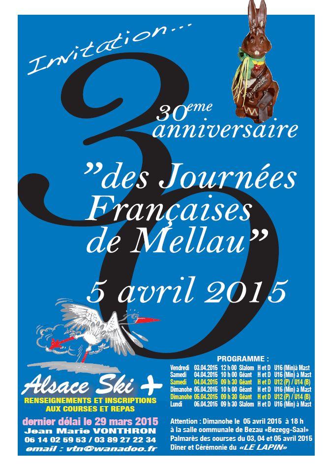 Invitation Journées Françaises de Mellau